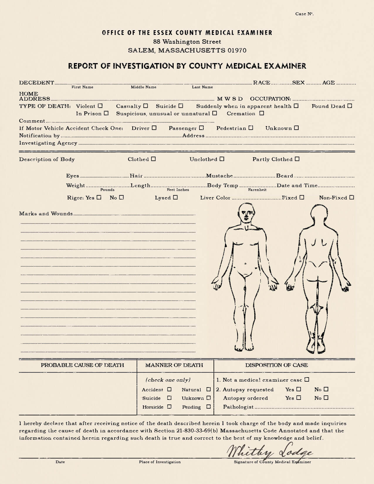 25 Images Of Sample Autopsy Report Blank Template | Gieday With Regard To Blank Autopsy Report Template