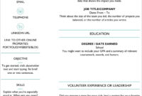 25 Resume Templates For Microsoft Word [Free Download] Within How To Get A Resume Template On Word