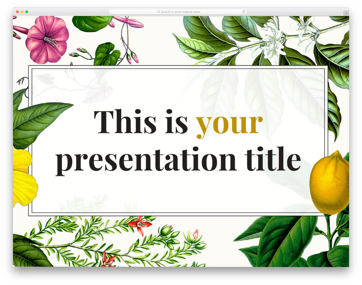 26 Best Hand Picked Free Powerpoint Templates 2020 - Uicookies Regarding Fancy Powerpoint Templates