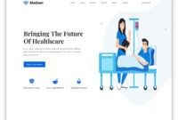 26 Free Healthcare Website Templates With Online Scheduling throughout Medical Appointment Card Template Free