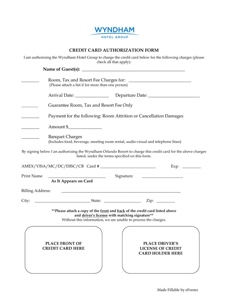 27+ Credit Card Authorization Form Template Download (Pdf For Credit Card Authorization Form Template Word