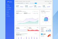 27 Free Dashboard Templates – Creative Tim's Blog throughout Html Report Template Free