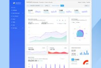 27 Free Dashboard Templates – Creative Tim's Blog Within Html Report Template Download