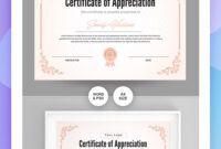 28 Attention-Grabbing Certificate Templates – Colorlib within No Certificate Templates Could Be Found