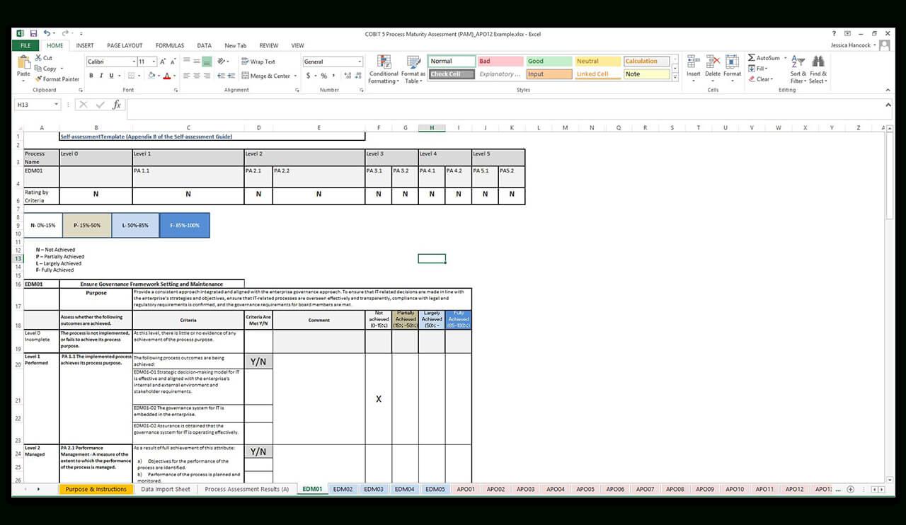 28+ [ Baseline Report Template ] | Evaluator Midrig 8 Intended For Baseline Report Template