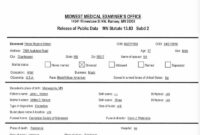 28+ [ Coroner S Report Template ] | Blank Autopsy Report Www in Autopsy Report Template
