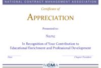 28+ [ Formal Certificate Template ] | Doc 500353 Formal pertaining to Formal Certificate Of Appreciation Template