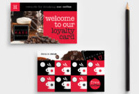 28 Free And Paid Punch Card Templates & Examples inside Customer Loyalty Card Template Free