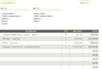 28 Free Estimate Template Forms [Construction, Repair regarding Blank Estimate Form Template