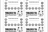 28+ [ Punch Card Template Free ] | Punch Card Template Punch with regard to Free Printable Punch Card Template
