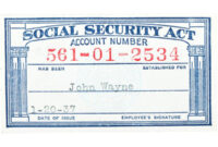 28+ [ Social Security Card Template Pdf ] | Social Security with regard to Ss Card Template