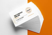 29+ Creative Restaurant Business Card Templates – Ai, Apple inside Pages Business Card Template
