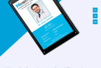 29+ Id Card Templates – Psd | Id Card Template, Employee Id pertaining to Id Badge Template Word