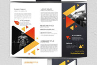 3 Panel Brochure Template Google Docs 2019 | Cover Page for Brochure Templates For Google Docs