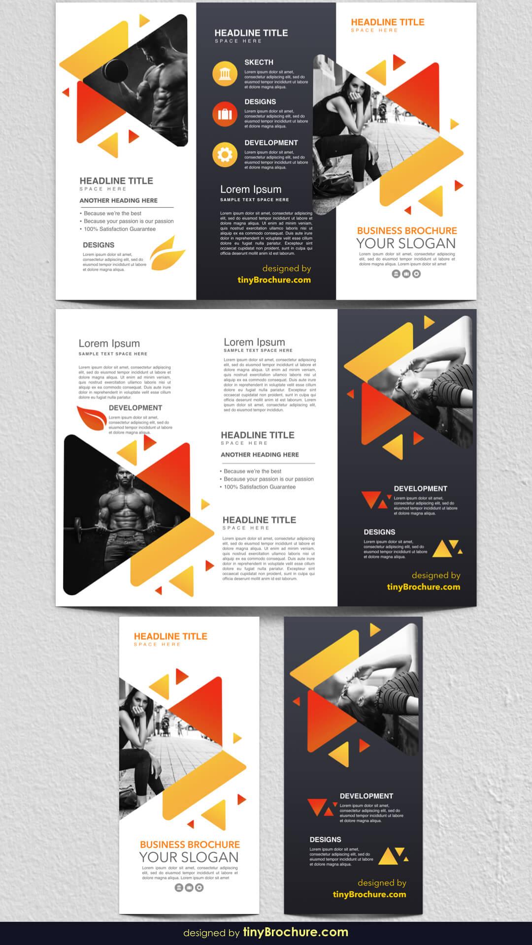 3 Panel Brochure Template Google Docs 2019 | Graphic Design Regarding Three Panel Brochure Template
