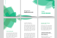 3 Panel Brochure Template Word Format Free Download with Word Catalogue Template