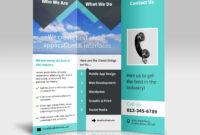 3 Panel Tri Fold Brochure Psd Mockups – Psd Mockups with regard to Brochure 3 Fold Template Psd