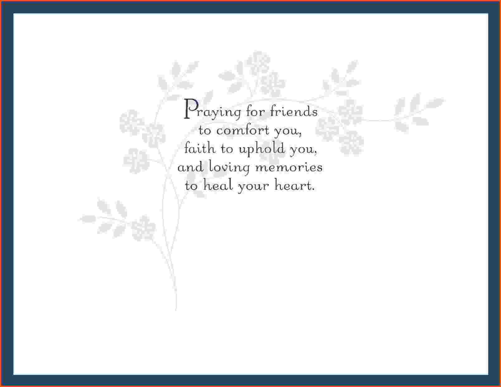 3 Sympathy Card Template | Survey Template Words Intended For Sorry For Your Loss Card Template