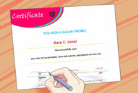 3 Ways To Make A Certificate – Wikihow Within Superlative Certificate Template