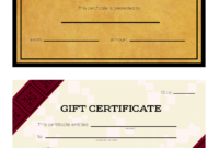 3 Ways To Make Your Own Printable Certificate – Wikihow pertaining to Automotive Gift Certificate Template