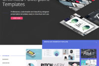 30 Best Pitch Deck Templates: For Business Plan Powerpoint throughout Powerpoint Pitch Book Template