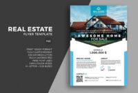 30+ Best Real Estate Flyer Templates | Real Estate Flyer for Real Estate Brochure Templates Psd Free Download
