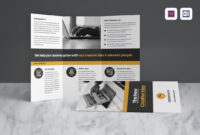 30+ Best Tri-Fold Brochure Templates (Word & Indesign) throughout 4 Fold Brochure Template Word