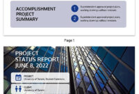 30+ Business Report Templates Every Business Needs – Venngage intended for Company Progress Report Template