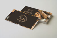 30+ Delicate Restaurant Business Card Templates | Decolore with regard to Call Card Templates