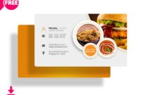 30+ Delicate Restaurant Business Card Templates | Decolore within Restaurant Business Cards Templates Free