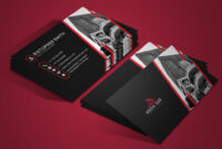 30+ Modern Real Estate Business Cards Psd | Decolore within Real Estate Business Cards Templates Free