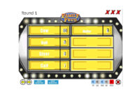 31 Great Family Feud Templates (Powerpoint, Pdf & Word) ᐅ within Family Feud Powerpoint Template With Sound