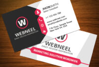 32 Modern Business Card Template Free Download in Unique Business Card Templates Free