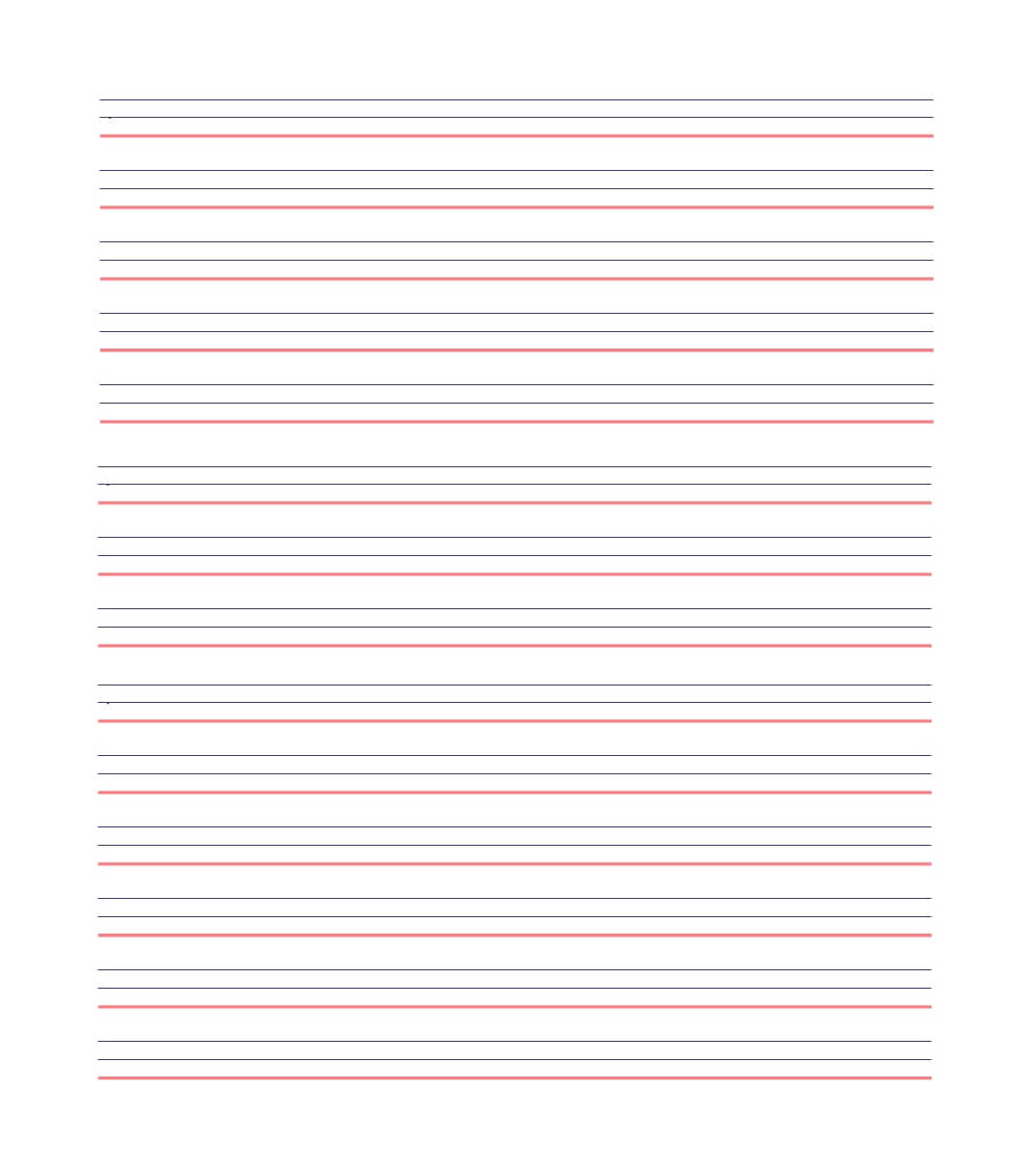 32 Printable Lined Paper Templates ᐅ Template Lab Throughout Notebook Paper Template For Word 2010