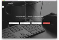 33 Awesome Html5 Landing Page Templates 2019 – Colorlib in Html5 Blank Page Template