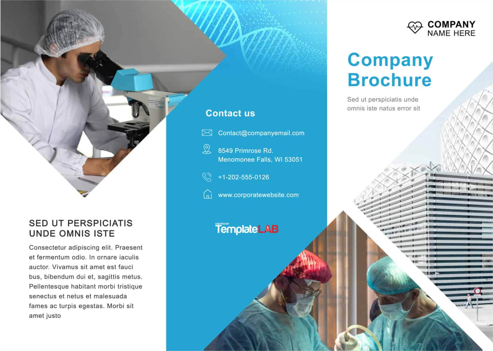 33 Free Brochure Templates (Word + Pdf) ᐅ Template Lab With Regard To Engineering Brochure Templates Free Download