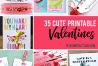 35 Adorable Diy Valentine's Cards To Print At Home For Your for Valentine Card Template For Kids