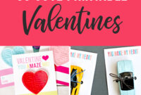 35 Adorable Diy Valentine's Cards To Print At Home For Your with regard to Valentine Card Template For Kids