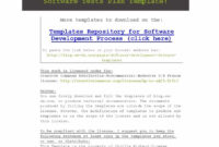 35 Software Test Plan Templates & Examples ᐅ Template Lab in Software Test Plan Template Word