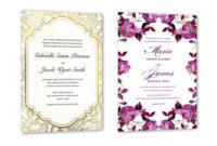 35+ Wedding Invitation Wording Examples 2020 | Shutterfly with regard to Sample Wedding Invitation Cards Templates