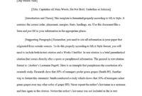 38 Free Mla Format Templates (+Mla Essay Format) ᐅ Template Lab inside Mla Format Word Template