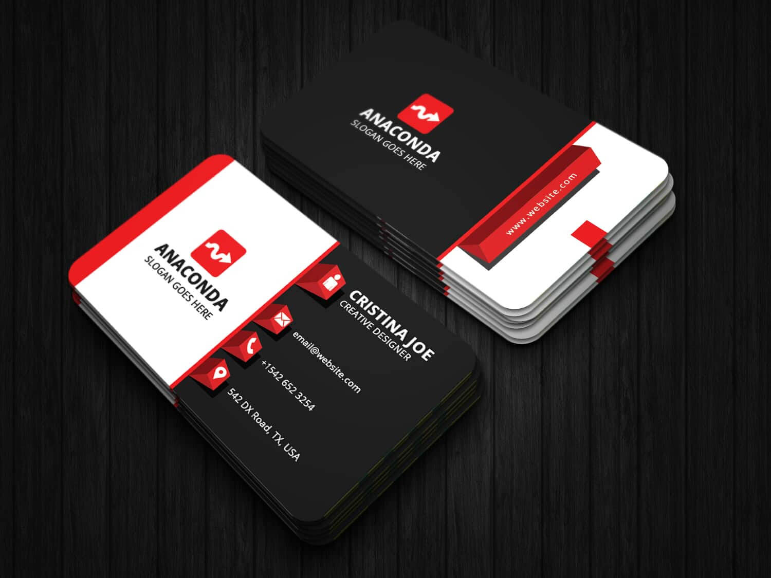 3D Business Card Template In Buisness Card Template