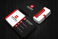 3D Business Card Template intended for Buisness Card Templates
