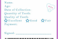3D8E1B Custom Tooth Fairy Letter | Wiring Resources intended for Free Tooth Fairy Certificate Template