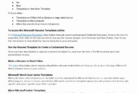 4+ Job Reference Template Word | Ledger-Paper in Business Reference Template Word