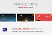 40 Awesome Edge Animate Templates regarding Animated Banner Templates