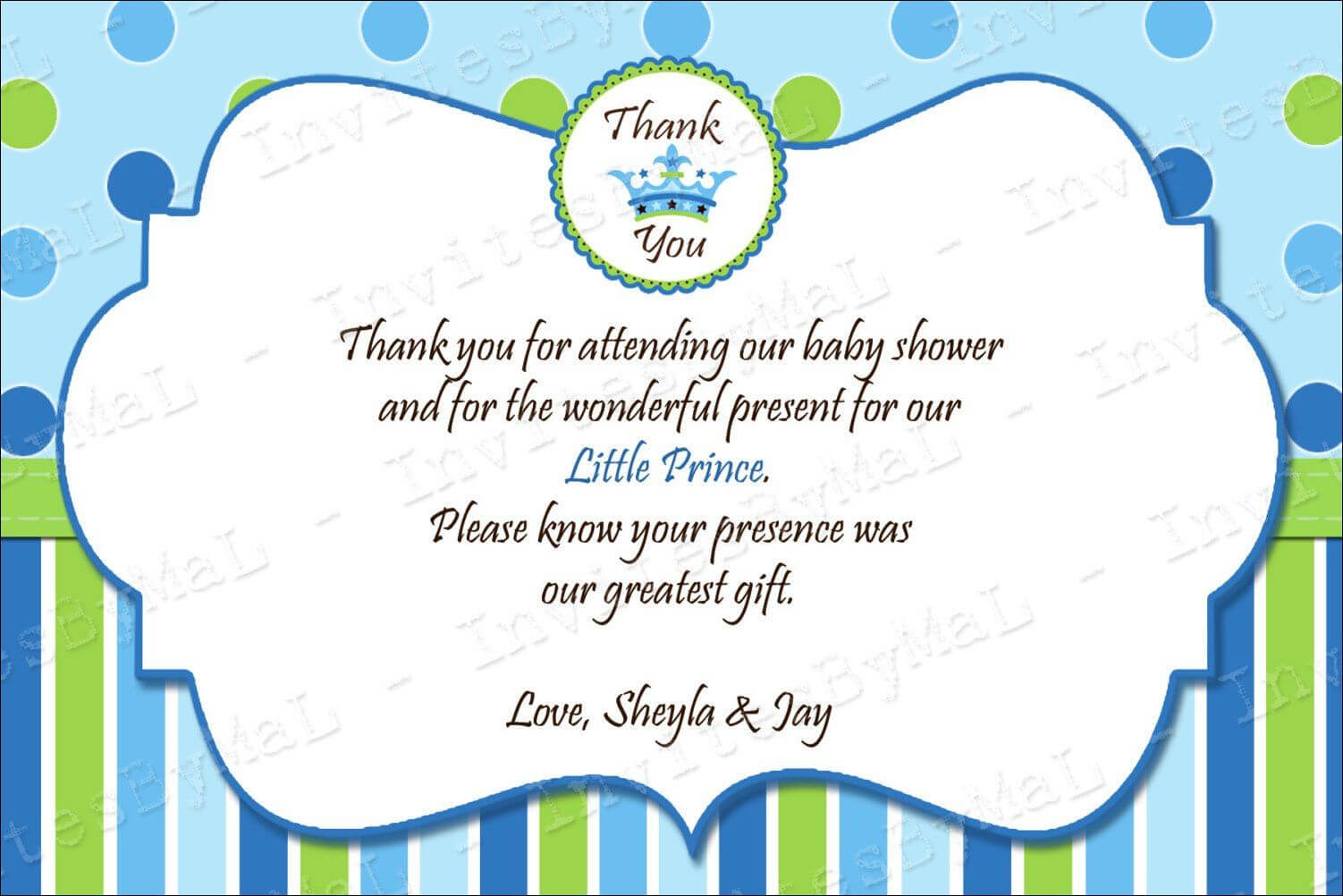 40 Beautiful Baby Shower Thank You Cards Ideas | Baby Shower Inside Template For Baby Shower Thank You Cards