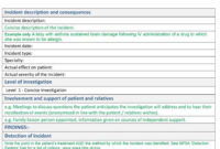 40+ Effective Root Cause Analysis Templates, Forms & Examples in Root Cause Report Template