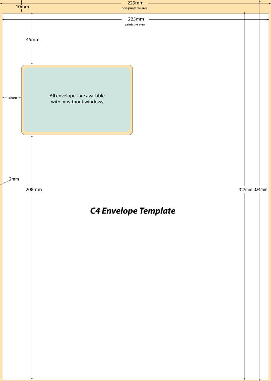 40+ Free Envelope Templates (Word + Pdf) ᐅ Template Lab With Regard To Word 2013 Envelope Template