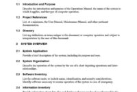40 Free Instruction Manual Templates [Operation / User Manual] pertaining to Training Manual Template Microsoft Word